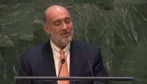 Ron Prosor - ambassadeur van Israel bij de VN...